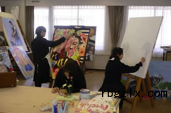 相爱学园中学俱乐部活动(美术)