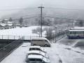 朝日塾校园雪景
