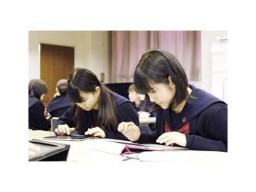 山梨英和高中——只有女孩子才能进的超级科学班