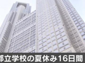 日本高中2020年暑假16天 寒假也有可能缩短